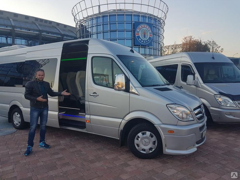 Прокат микроавтобусов в Минске от компании IS-CAR.